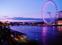 London Eye/ Thames von wastdyuth