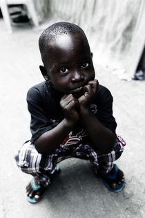 Little Boy in market by Rania chalfoun