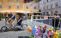 Pedicab in Rome von Ed Rooney