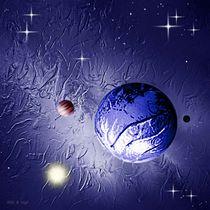 Einsamer Planet. von Bernd Vagt