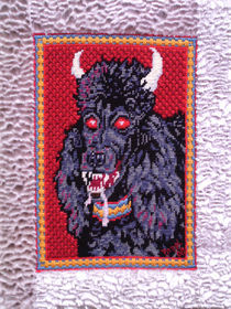 Devil Dog Poodle by Beppi Isbert