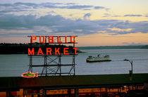 Seattle ferry von Ed Rooney