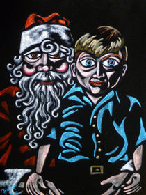 Adam and Santa by Beppi Isbert