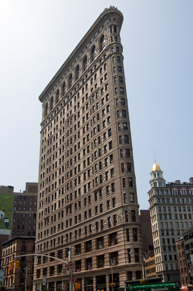 The-flat-iron-building
