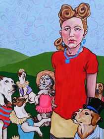 Ivana and the Dogs by Beppi Isbert