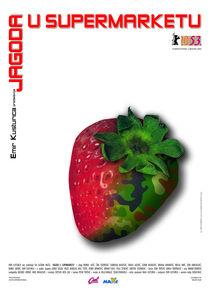 Strawberry in Supermarket by Nikola  Vukasinovic