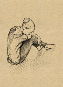 "Sketch ""Dancer"" by Radik Mukhamadullin"