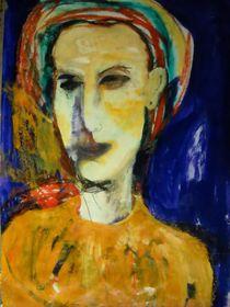 portrait oil painting von Mercedes tita