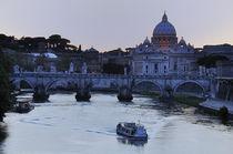 Dusk on the Tiber by Ed Rooney