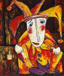 Lonely clown by Elin Bogomolnik