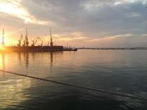 Sunset and sea... von Maksym Kulichkov