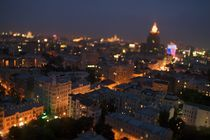 View over Stari Arbat, Moscow, Russia, 4423 by Stas Kalianov