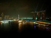 Marina Bay Sands by night von mac-mik