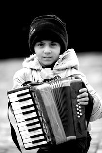'little musician' by Andreas Papakonstantinou