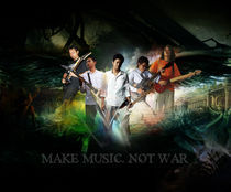 Make Music Not War by Mohd Shakirin Abbas