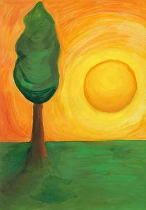Imaginary Sunset by Johanna Földesi