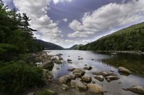 Jordan Pond in Acadia National Park by Glen Fortner