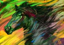 Black horse 2010 by Krasimir Rizov