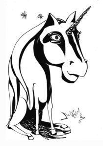Unicorn by Katerina Kopaeva