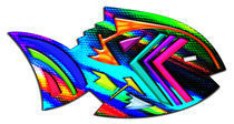 Abstract Southwest Style Fish by Blake Robson
