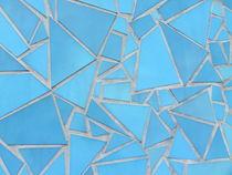 Fließenwand, Kegel des Dachgartens der Bundeskunsthalle Bonn von Kathrin Kiss-Elder