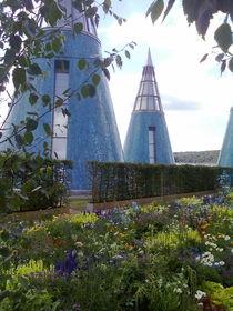 Kegel des Dachgartens der Bundeskunsthalle Bonn by Kathrin Kiss-Elder