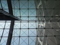 Glasdach Kölner Hauptbahnhof von Kathrin Kiss-Elder