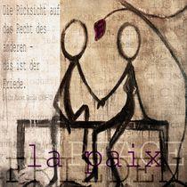 Frieden von Christine Lamade