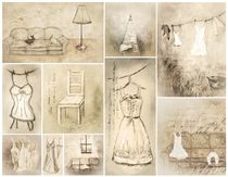 Collage Romantique von Christine Lamade