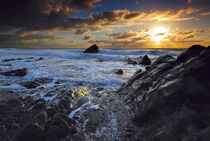 Sandymouth Sunset, Cornwall von Craig Joiner