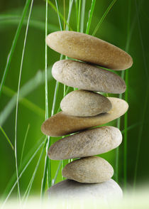 Balance Stone von Tanja Riedel