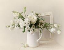 white Flower von Christine Lamade