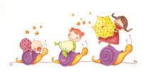 Three snails by nonoray