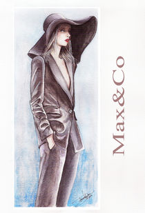 Max Co - fashion illustration von Tania Santos