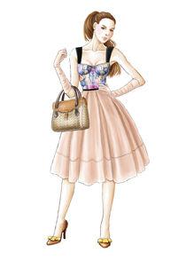 Louis Vuitton illustration von Tania Santos