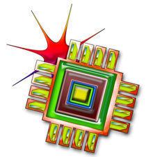 Fancy Computer Chip von Blake Robson