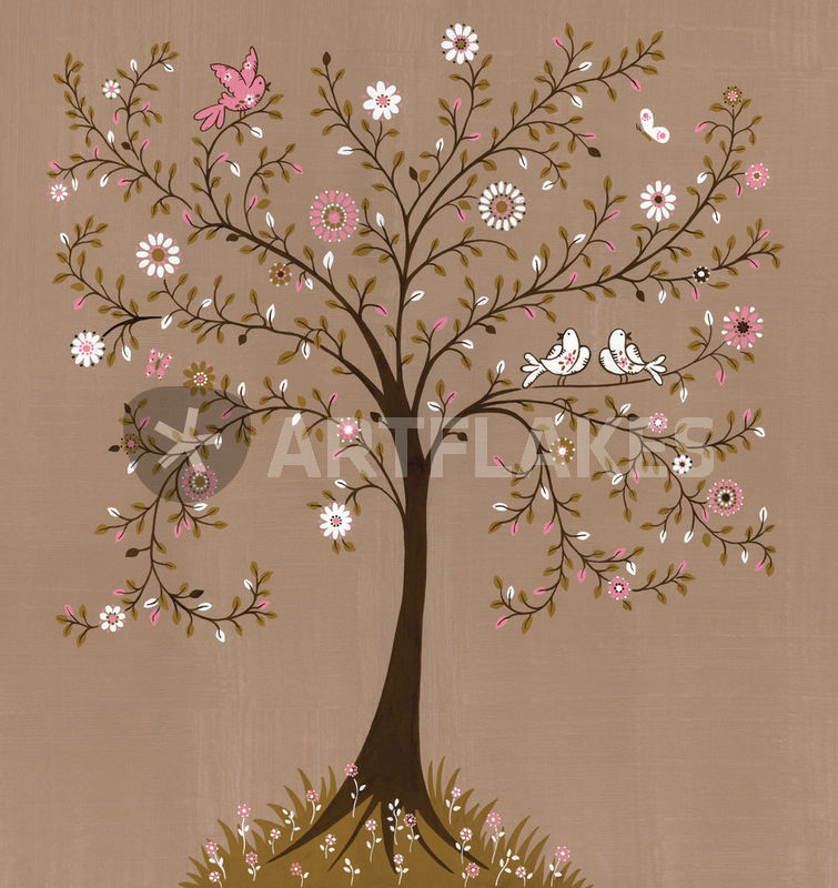 tree of life graphic illustration art prints and posters by ruth