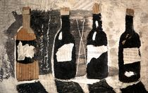four bottles by Christine Lamade