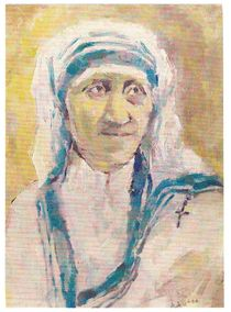 Mother Teresa by Ioana  Candea