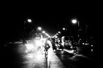 Marrakesh street by night by sofiane