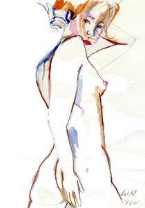 Akt in drei Farben 002 von Noel Koehn