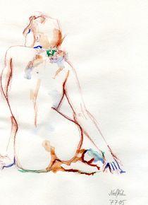Akt in drei Farben von Noel Koehn