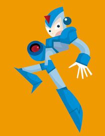 Megaman by shanehorror