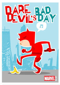 Davedevil's bad day von shanehorror