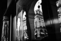 PARIS STREETS AROUND PLACE VENDOME IN REFLECTIONS von Paul Bellevie