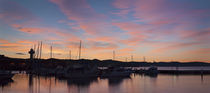 Sunrise panorama #2, Hobart, 17 July 2010 by photography-by-odille