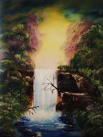 Wasserfall by Eva Borowski