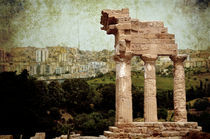 Temple of Castor and Pollux in Agrigento by RicardMN Photography