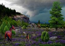 Serie Pferde Bild 05 von Klaus Lensch