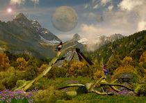 Fantasie Welt Bild 01 von Klaus Lensch